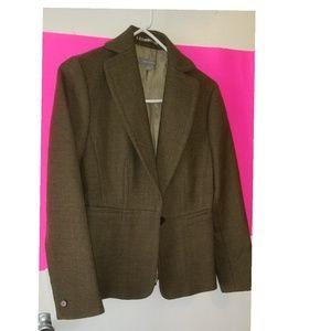 Ann Taylor olive green blazer
